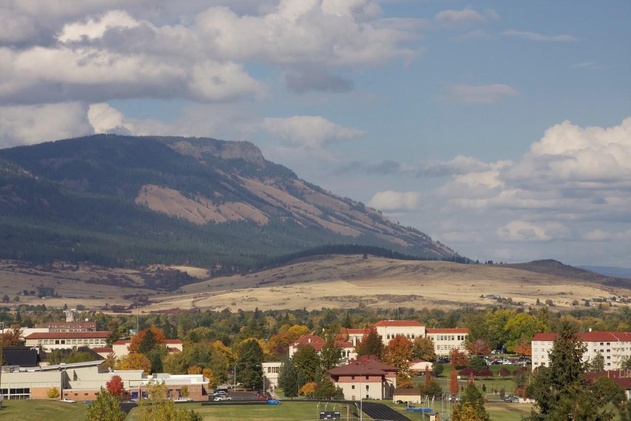 Eastern Oregon University and Mount Emily La Grande, Oregon