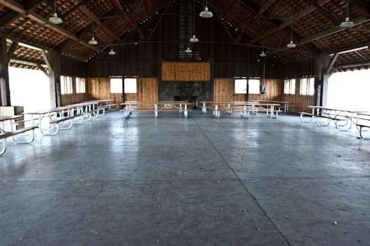Pavilion Interior View