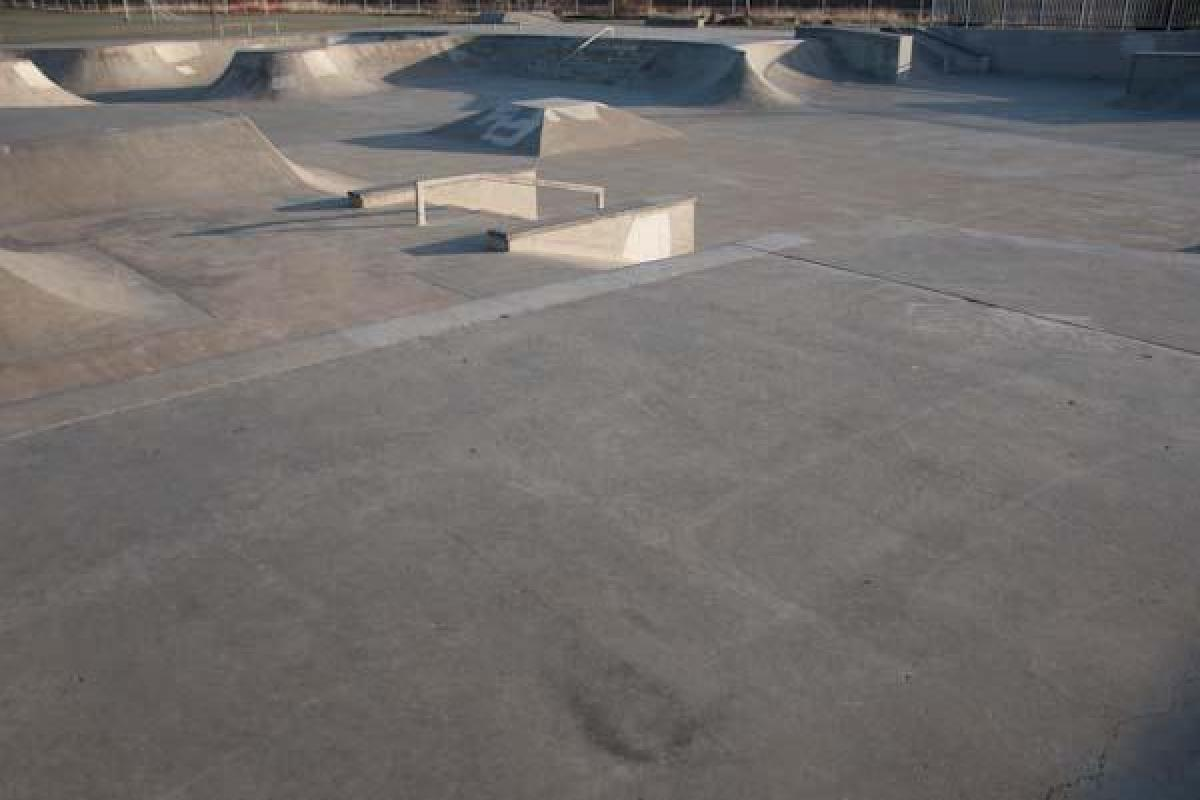 SK8 Park At Dawn Series