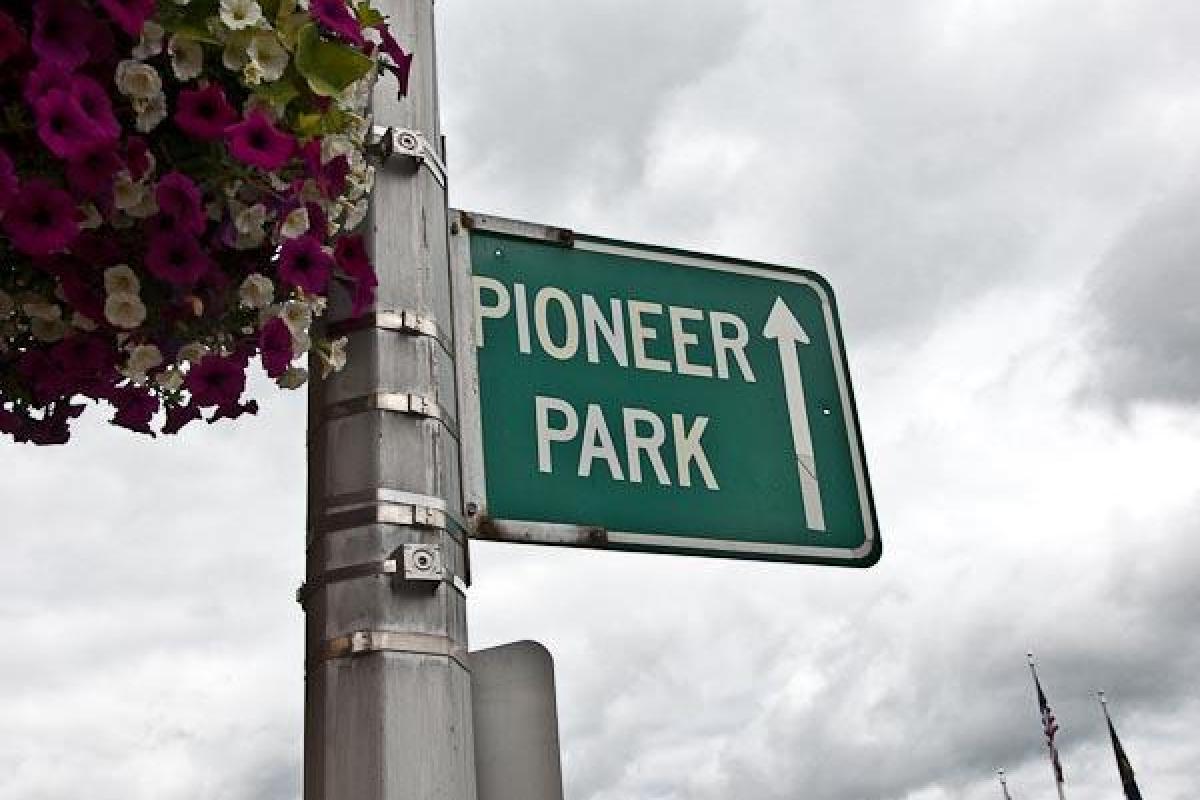 Onward to Pioneer Park!