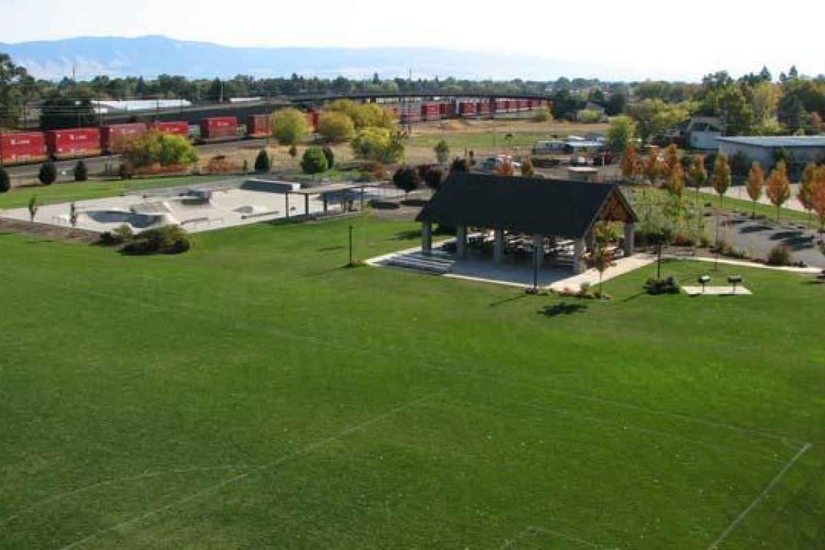 SK8 Park aerial view