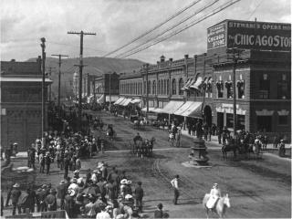 Adams Avenue 1908-1910 Parade